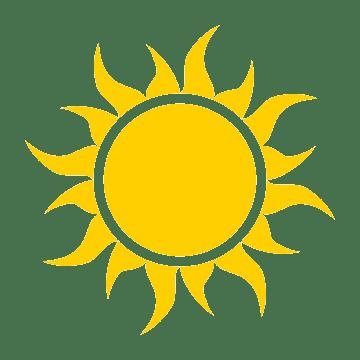 солнце дарит радость и спокойствие